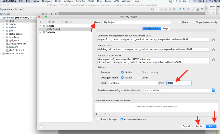 Crafter CMS Step through Debugging | Crafter CMS, the