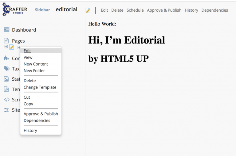 Headless CMS: Enable In-Context Preview and Editing in an